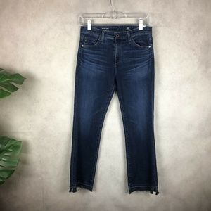 AG Jeans The Jodi Crop High Rise Slim Flare Jeans